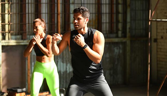 Haciendo ejercicio juntos