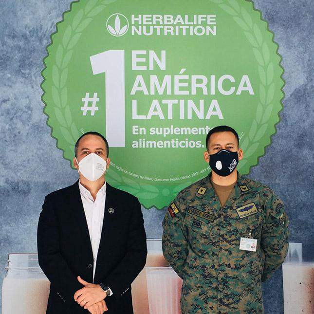 Donación a la Fuerza Aérea Ecuatoriana