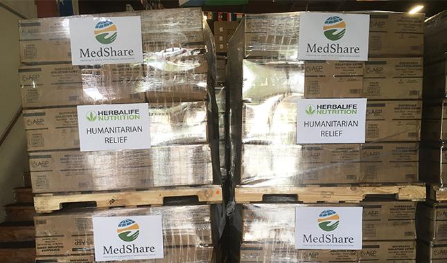 Herbalife Nutrition MedShare apoyo