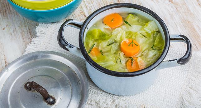 La dieta de la sopa de col