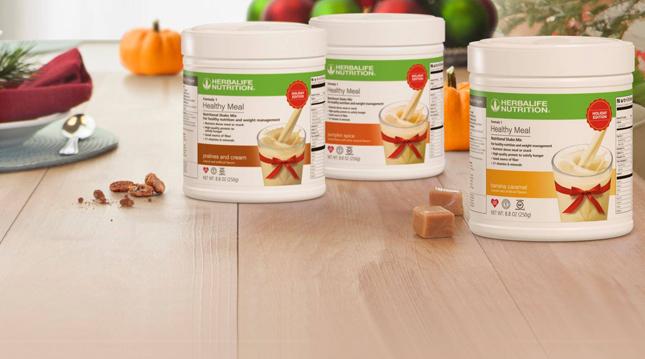 Herbalife Nutrition sabores de temporada Fórmula 1