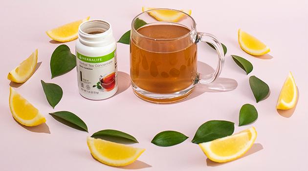 Té Herbalife de limón