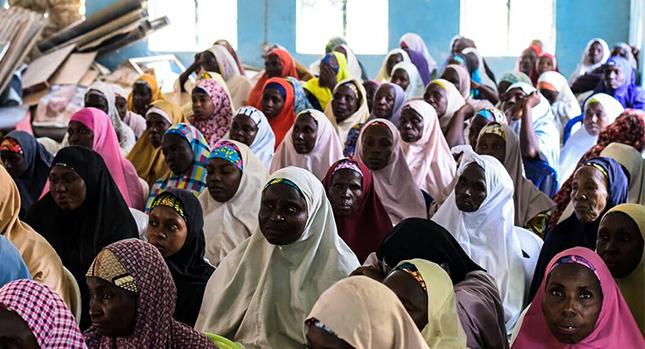 Reunión de Peju en el norte de Nigeria